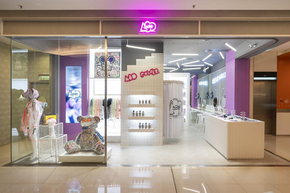 חיה את החלום! עיצוב חנות בהונג קונג A80 HONG KONG